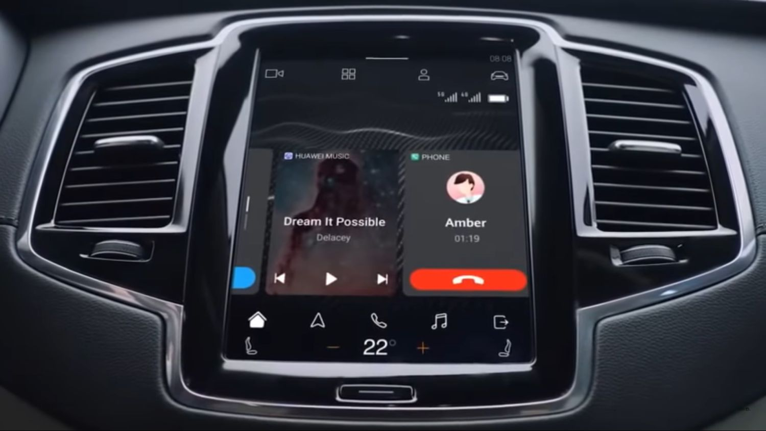 Huawei HiCar Android Auto