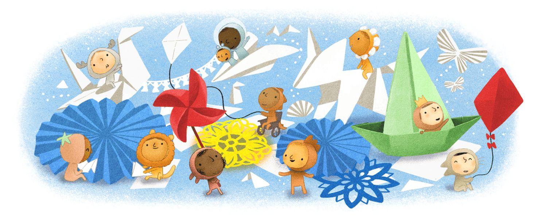Kindertag 2020 Google Doodle
