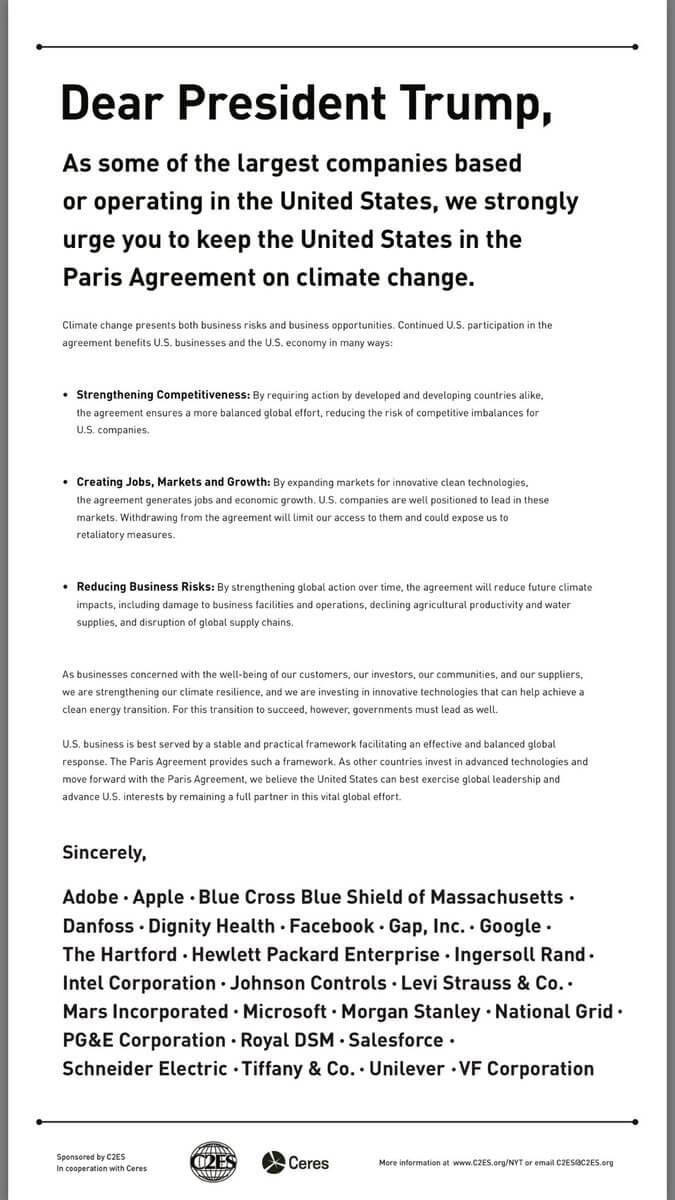 Klimaschutzabkommen