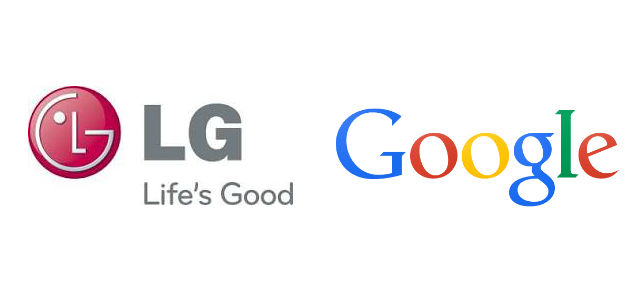 Logo LG Google