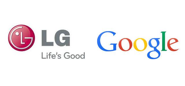 Logo LG Google