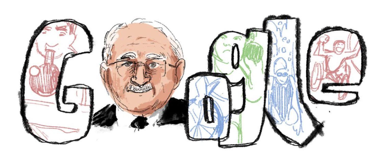Ludwig Guttmann Google Doodle Entwurf