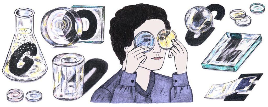 Marga Faulstich 103 Geburtstag Google-Doodle