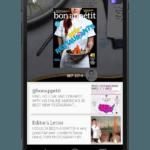 Google Newsstand auf Smartphone