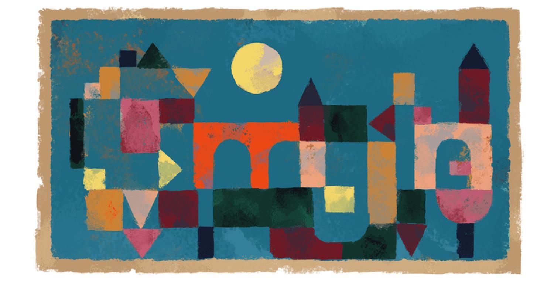 Paul Klee Google Doodle 139 Geburtstag
