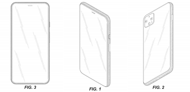 Pixel 6 Patent ohne Kamera 1
