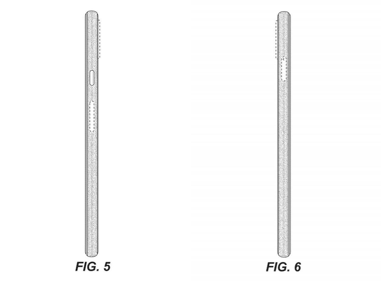 Pixel 6 Patent ohne Kamera 2