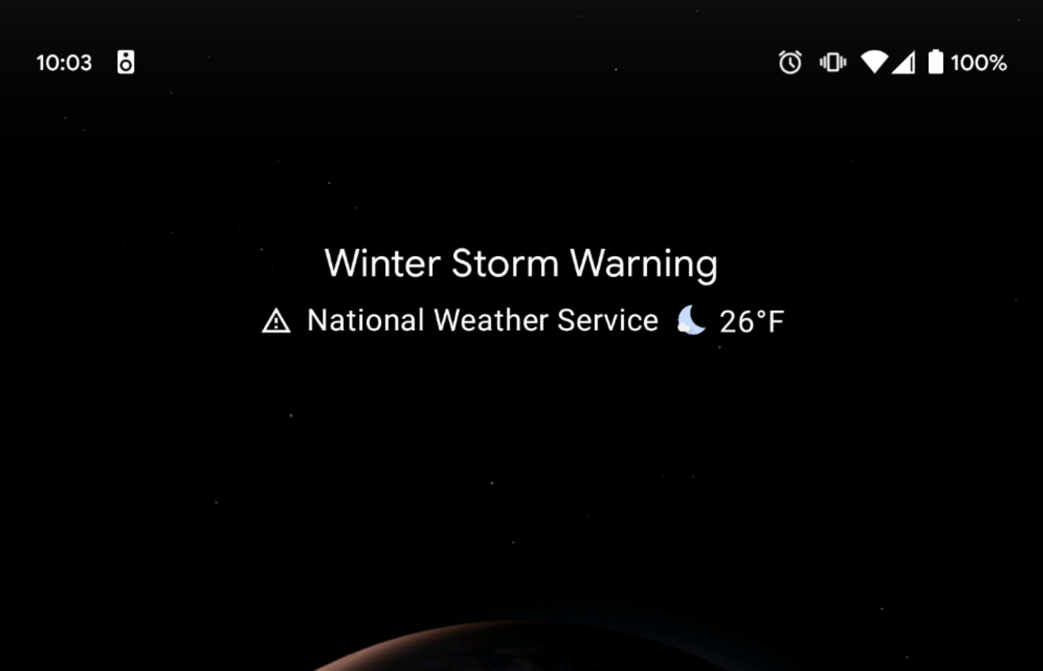 Pixel-Launcher-weather-alerts