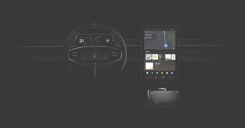 Polestar Android Automotive 3