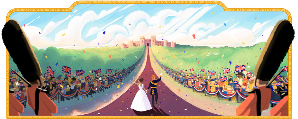 Royal Wedding 2018 Google-Doodle