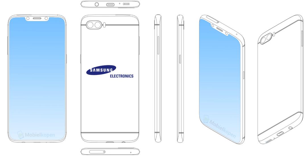 Samsung Patent Notch
