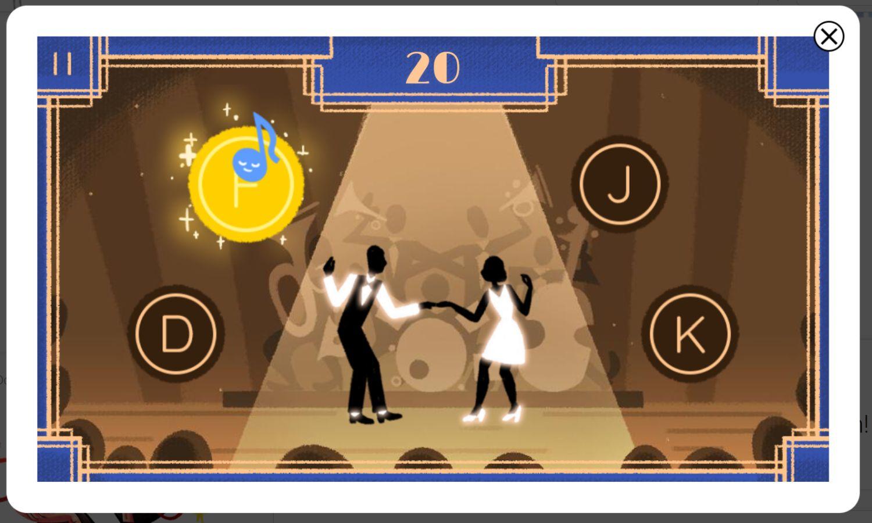 Savoy Ballroom Google Doodle Spiel