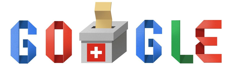 Schweizer Wahl 2019 google doodle