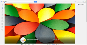 Google+ Cover Fullscreen