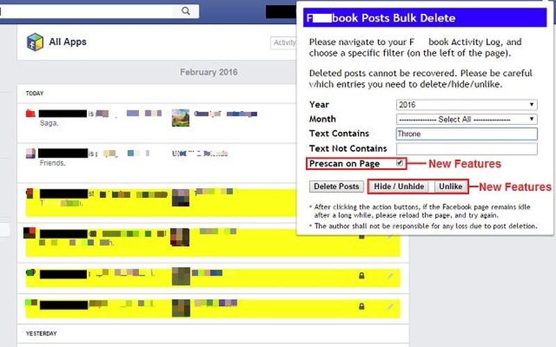 Socialbook Chrome Extension Delete