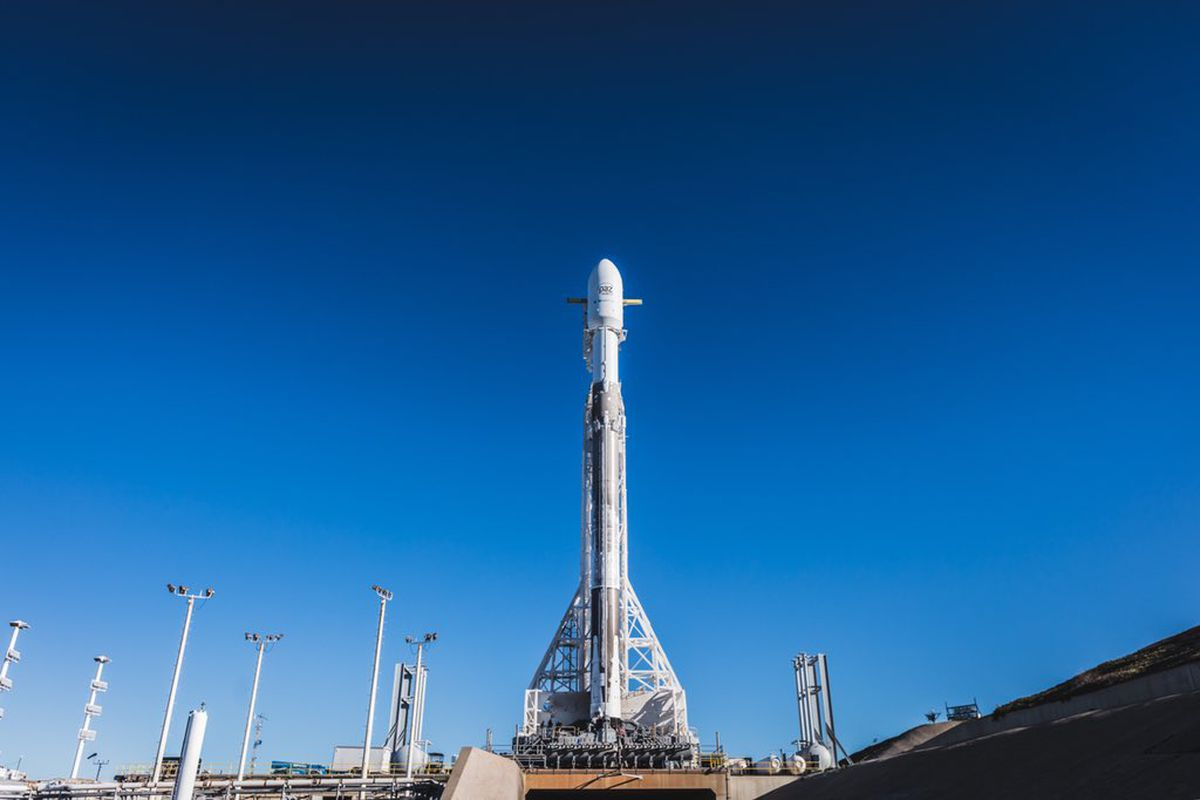 SpaceX PAZ Falcon 9