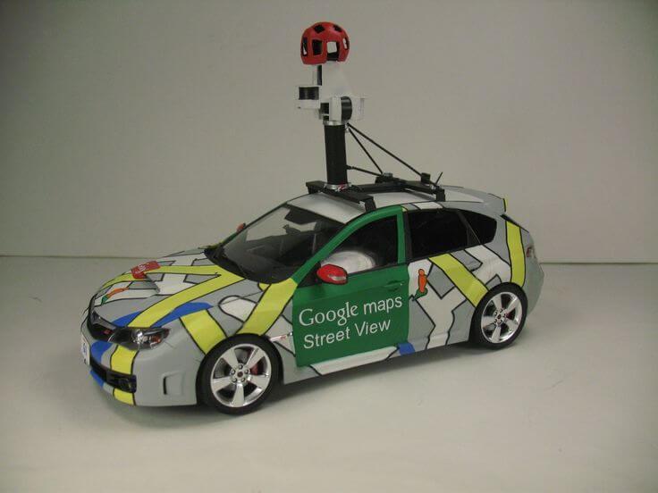 Streetview car