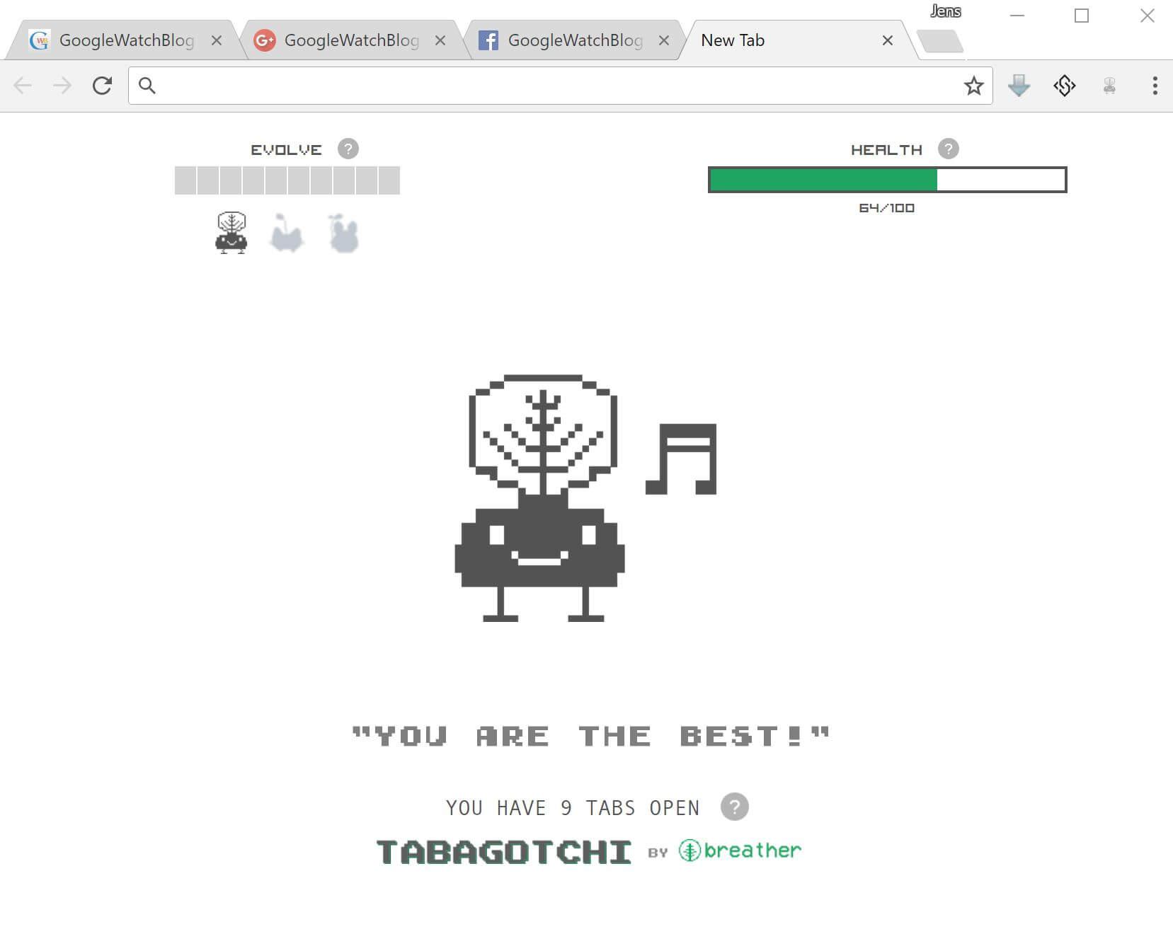Tabagotchi