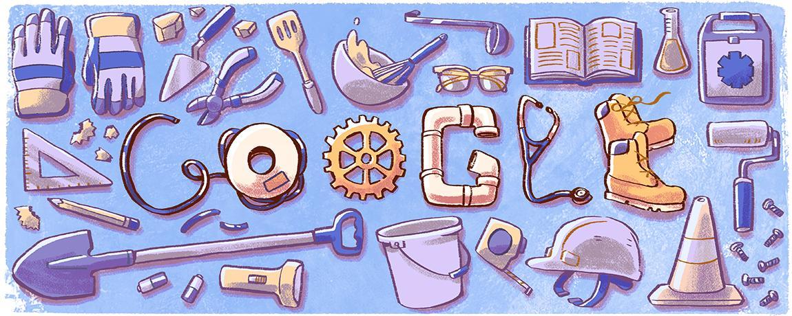 Tag der Arbeit Google Doodle