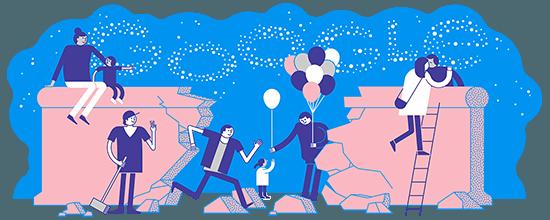 Tag der Deutschen Einheit 2018 Google Doodle