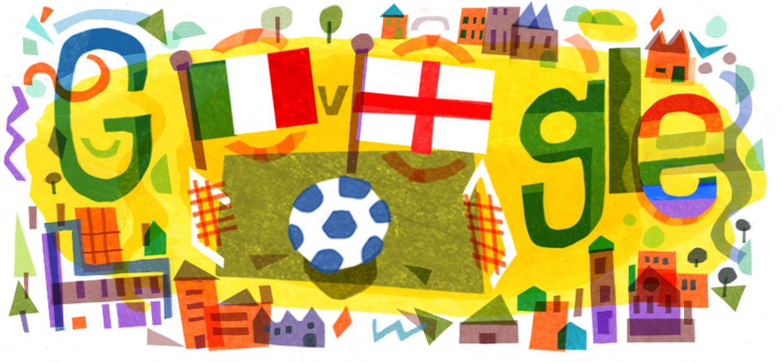 UEFA Euro 2020 2021 Fussball-EM Google Doodle