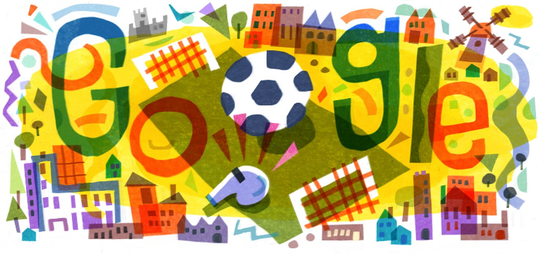 UEFA Euro 2020 Google Doodle