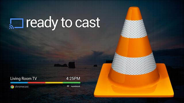 VLC-to-Chromecast