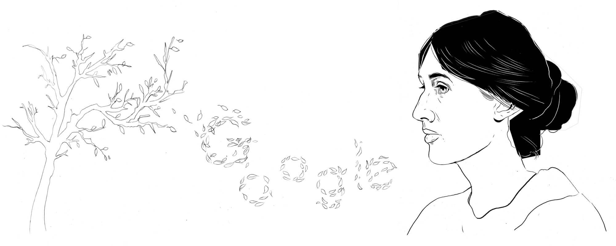 Virginia Woolf Entwurf 2