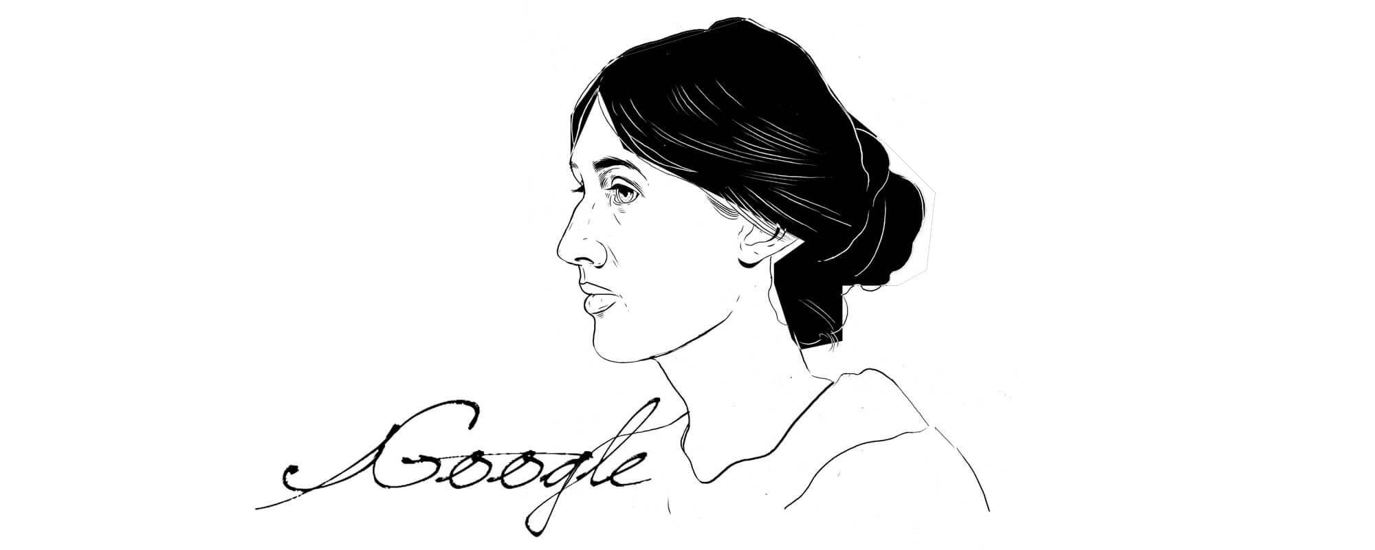 Virginia Woolf Entwurf 4