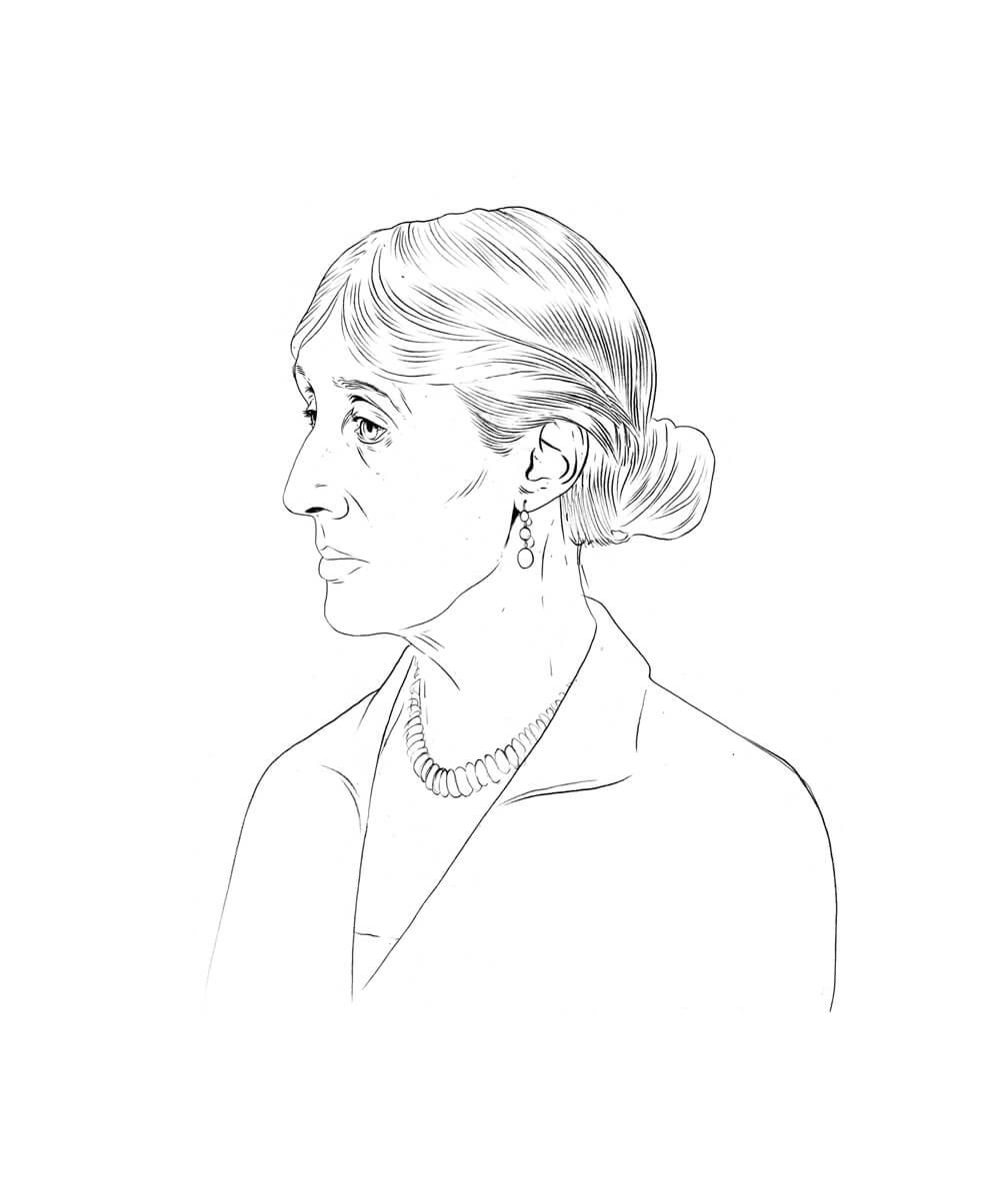 Virginia Woolf Entwurf 5