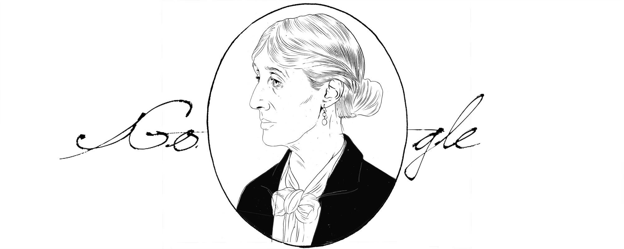 Virginia Woolf Entwurf 6