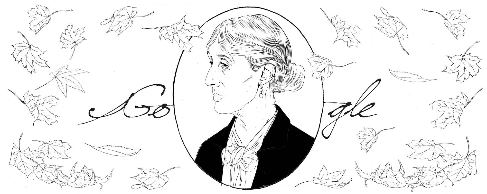 Virginia Woolf Entwurf 7