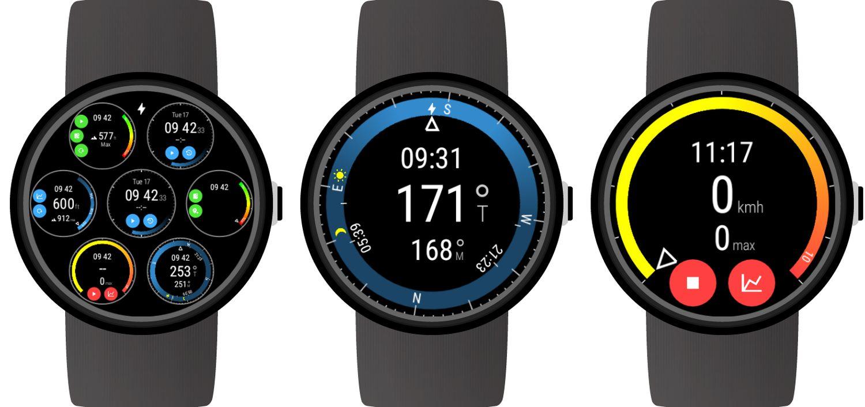 Wear OS Watch Face Instruments