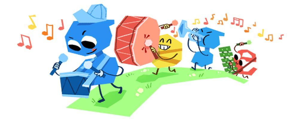 Weltkindertag 2018 Google Doodle