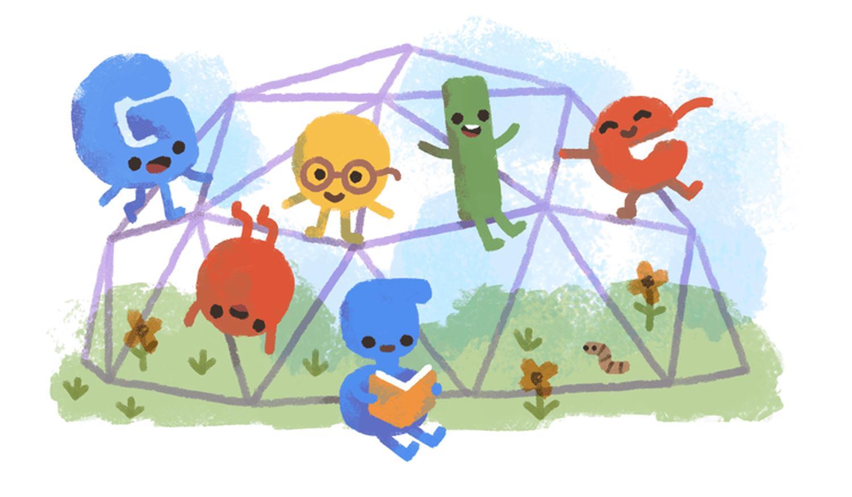 Weltkindertag Google Doodle