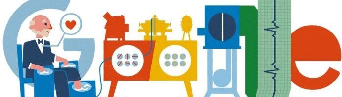 Willem Einthoven 159 Geburtstag Google Doodle
