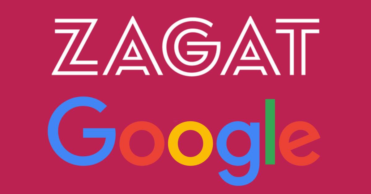 Zagat Google Logo
