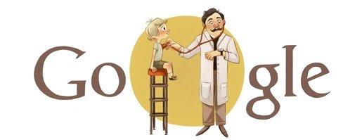 Google Doodle Adalbert Czerny