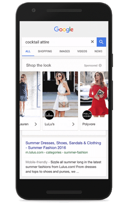 adwords shop the look