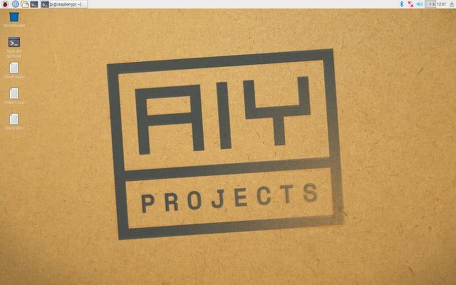 aiy projects screenshot