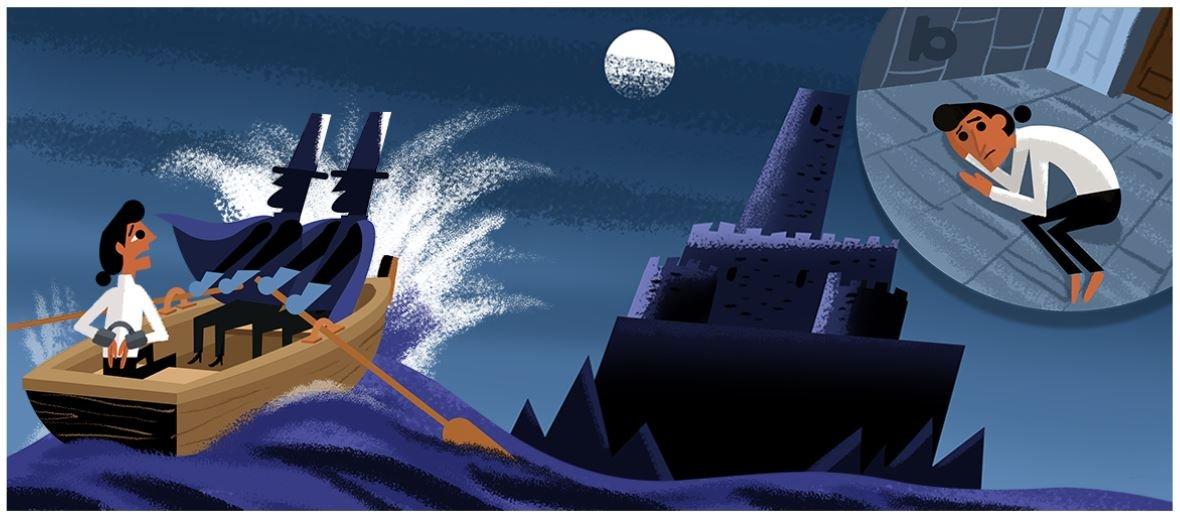 alexandre dumas google doodle 3
