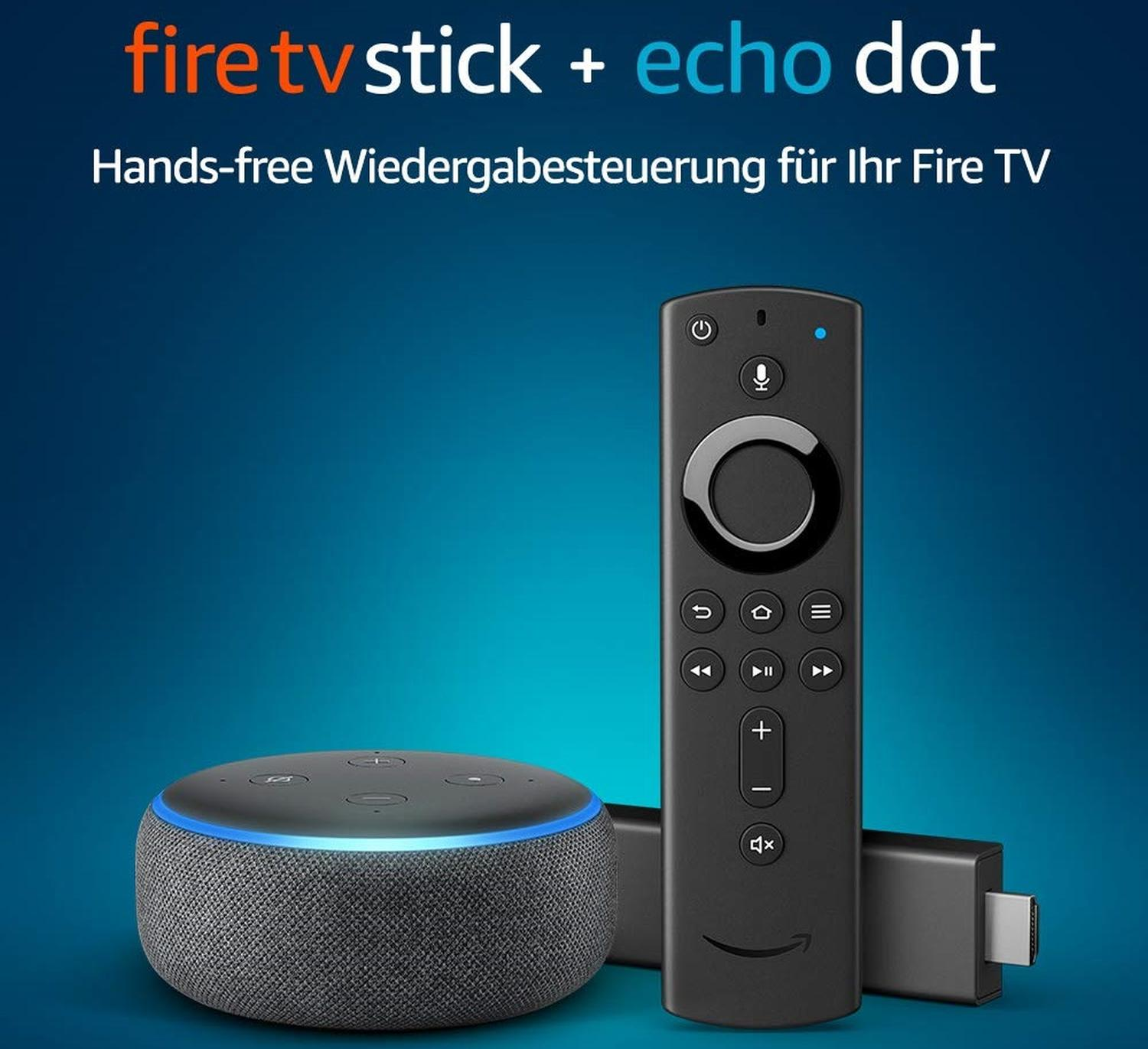 amazon aktion fire tv echo dot