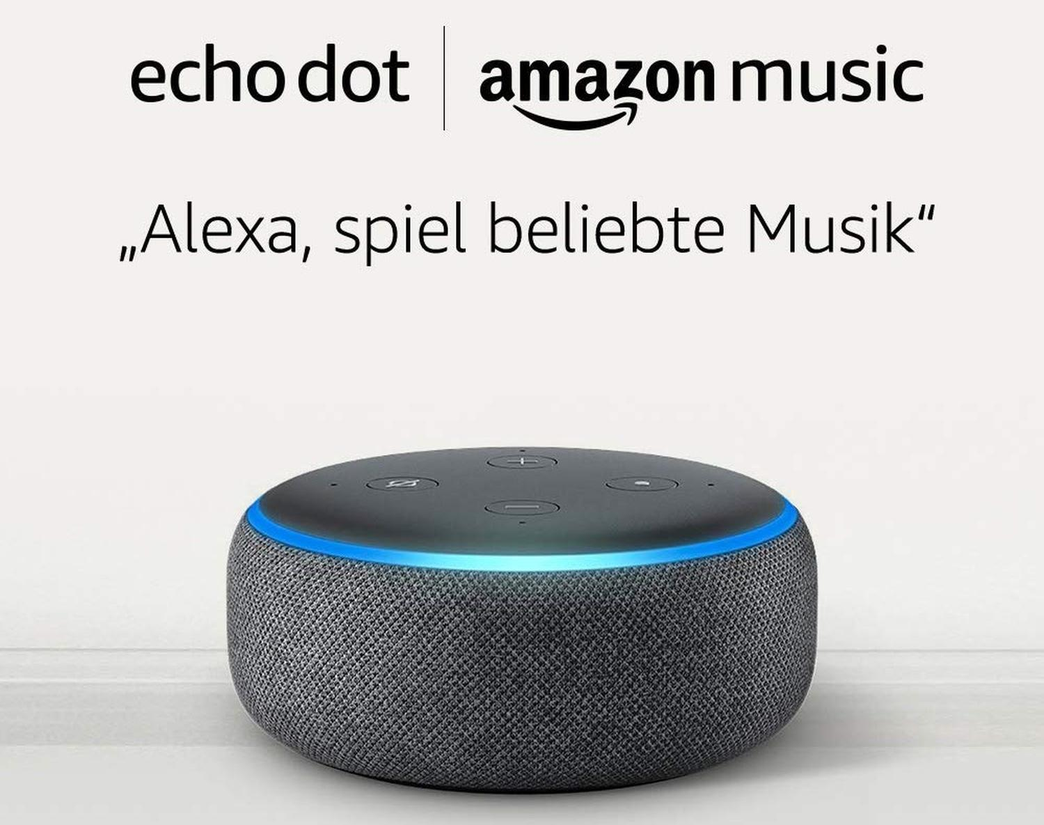 amazon echo dot amazon music unlimited