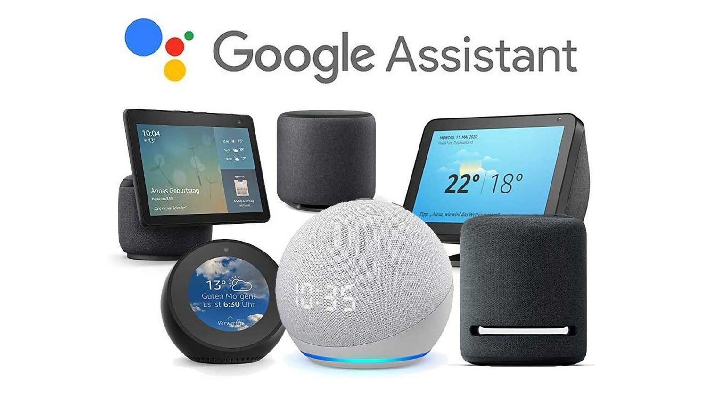 amazon echo google assistant