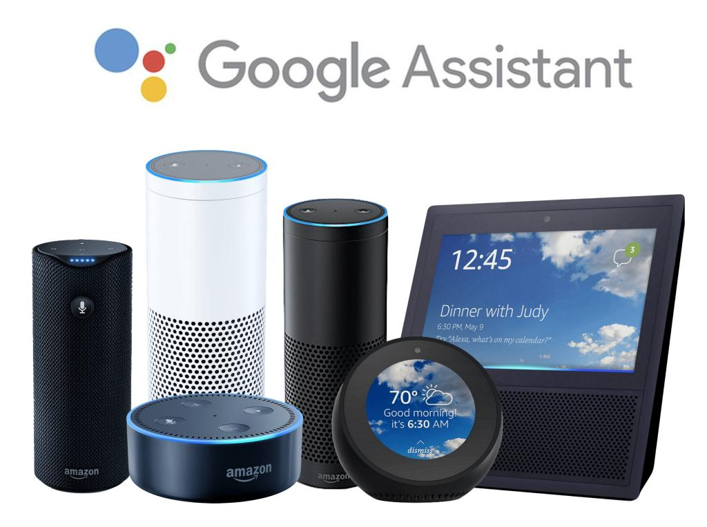 amazon echo google assistant