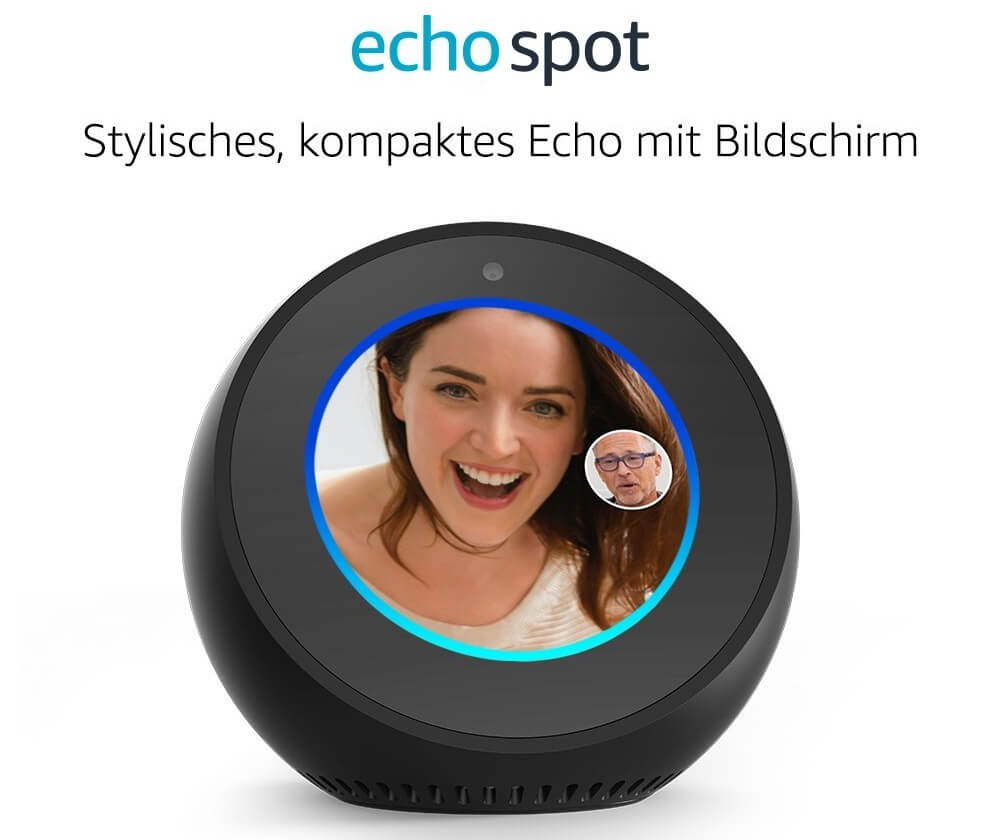 amazon echo spot device
