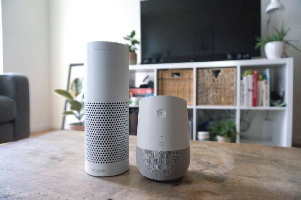 45 fragen an amazon echo google home so schlagen sich. Black Bedroom Furniture Sets. Home Design Ideas