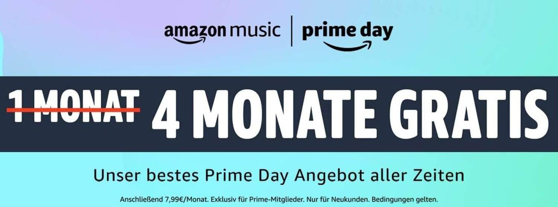 amazon music 4 monate gratis