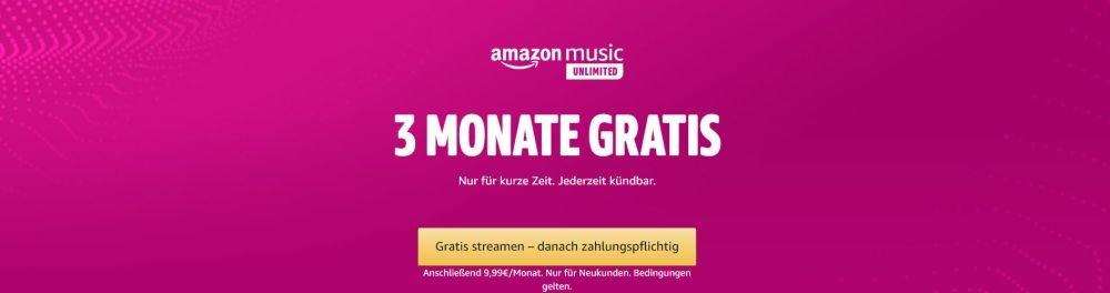 amazon music 90 tage gratis