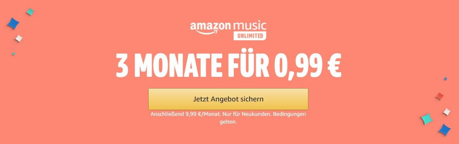 amazon music drei monate gratis september